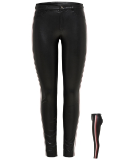 Only Broek onlTULIP FAUX LEATHER PANTS OTW 15176840 Black