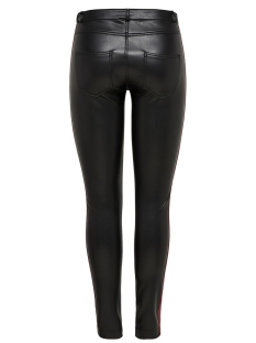 onltulip faux leather pants otw 15176840 only broek black