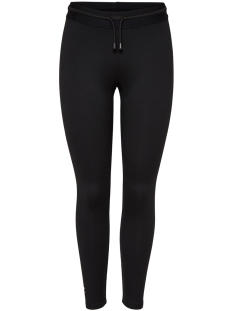 Only Play Sport broek onpRURI TRAINING TIGHTS 15165488 Black/ W WHITE P