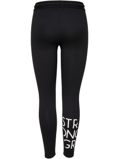 onpruri training tights 15165488 only play sport broek black/ w white p