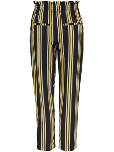 onlmichelle mw pull-up pants tlr 15173939 only broek blue graphite/ w golden