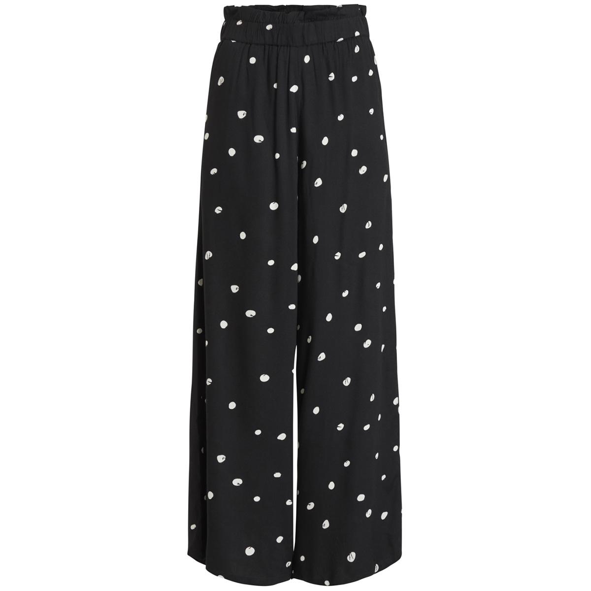 objevie hw pant pb5 23028365 object broek black/white dots