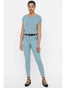 vmvictoria mr antifit ankle pants c 10186583 vero moda broek smoke blue