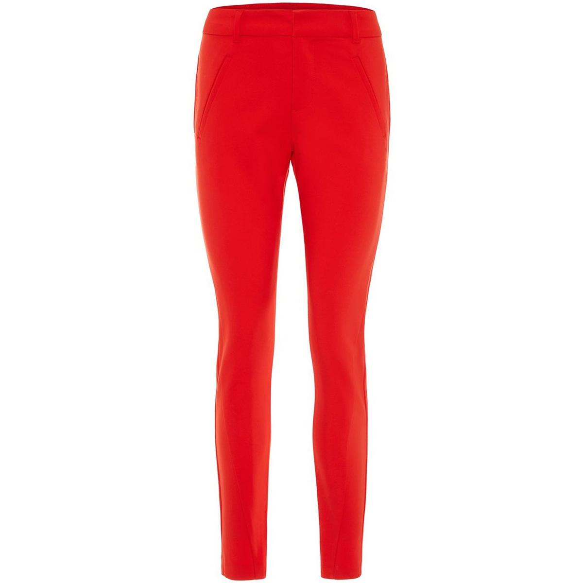vmvictoria mr antifit ankle pants c 10186583 vero moda broek fiery red