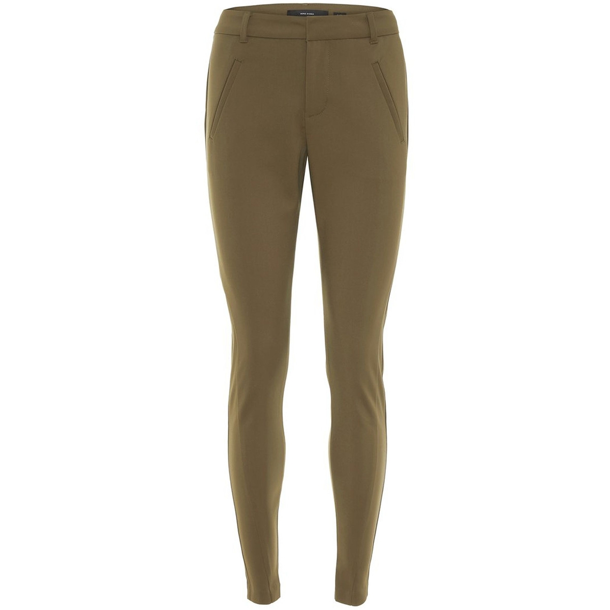 vmvictoria mr antifit ankle pants c 10186583 vero moda broek ivy green