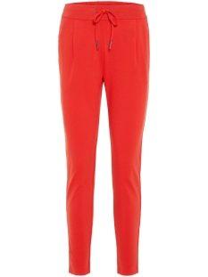 vmeva mr loose string pant color 10199386 vero moda broek fiery red