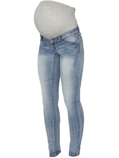 Mama-Licious Positie broek MLMARBELLA SLIM JEANS A 20009463 Light Blue Denim