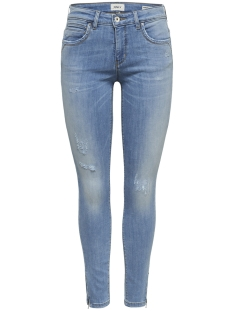 Only Jeans onlKENDELL REGSK ANK ZIPJNSCRE85148 NOOS 15170824 Light Blue Denim