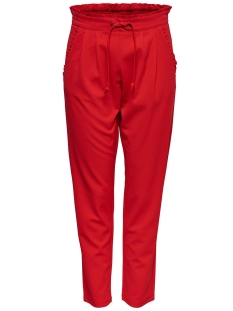 Jacqueline de Yong Broek JDYCATIA PANTS JRS NOOS 15152796 Fiery Red