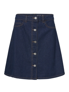 nmsunny shortdnm skater skirt gu027 27006862 noisy may rok dark blue denim