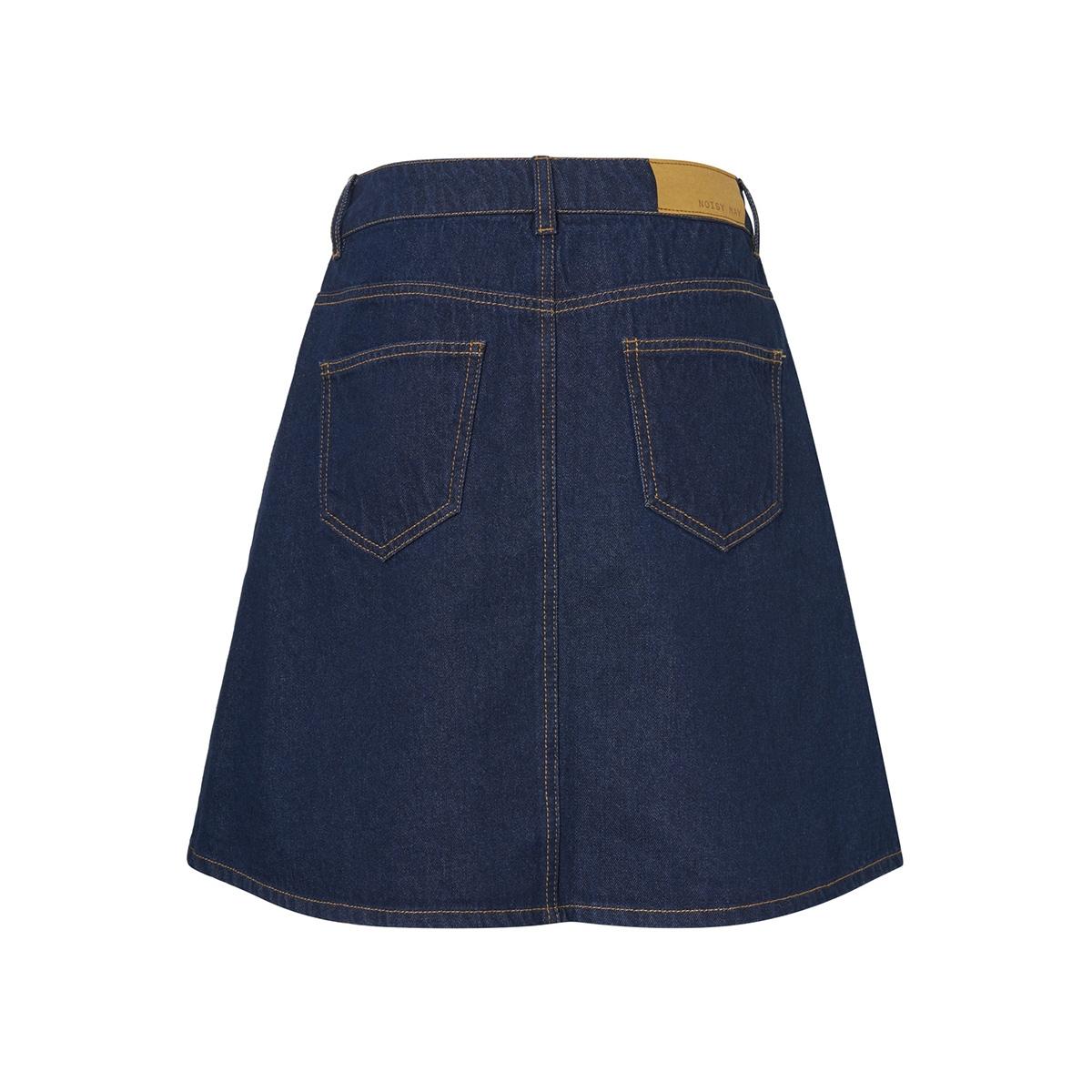nmsunny shortdnm skater skirt gu027 27006862 noisy may rok dark blue denim