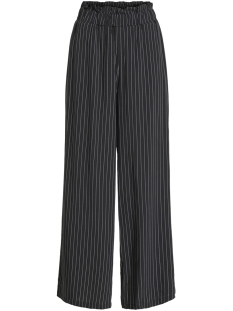 Object Broek OBJROSE HW PANT 101 23028265 Black/STRIPE