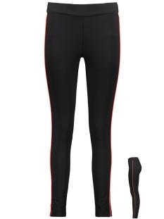 Vero Moda Legging VMSTORM HR PIPING LEGGING 10212385 Black/FIERY RED