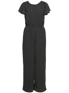 Only Jumpsuit onlfPAIGE LIFE S/S JUMPSUIT WVN 15173164 Black/WHITE DOTS