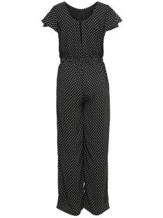 onlfpaige life s/s jumpsuit wvn 15173164 only jumpsuit black/white dots