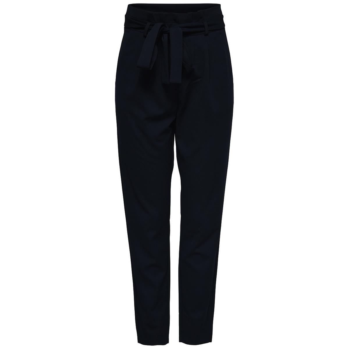 jdytanja pant jrs 15168316 jacqueline de yong broek black/dtm zipper