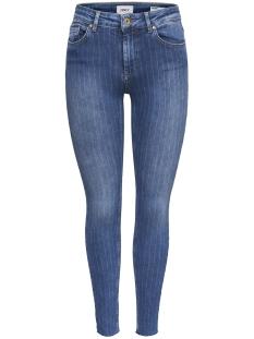 Only Jeans onlBLUSH MID SK ANKCUT DNM JEANS RE 15171595 Medium Blue Denim