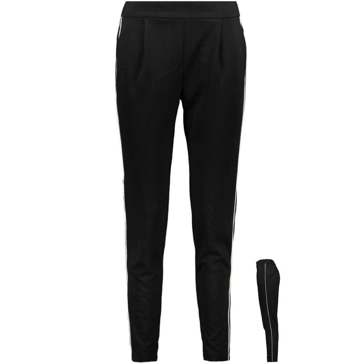 vmshana kelly nw pant 10211553 vero moda broek black/white pipi