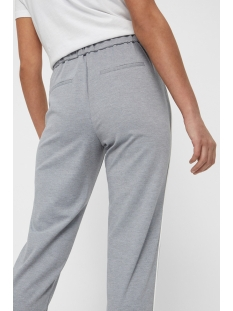 vmshana kelly nw pant 10211553 vero moda broek light grey melange/white pipi