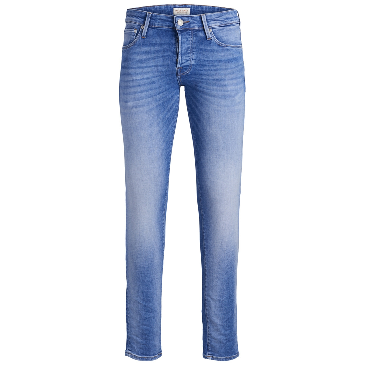 jjiglenn jjicon jj 457 50sps sts 12152588 jack & jones jeans blue denim