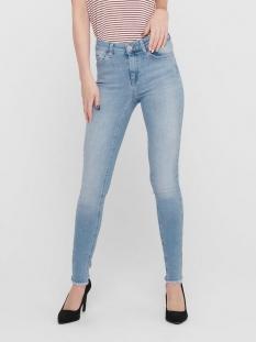 onlblush mid sk ank raw jns rea306 15164319 only jeans light blue denim