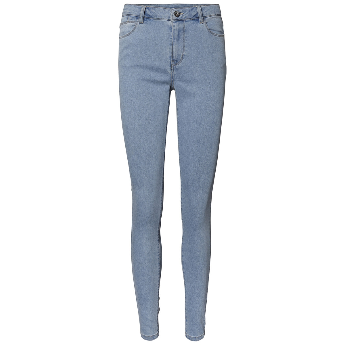 vmjulia flex it mr slim jegging gu3 10211611 vero moda jeans light blue denim