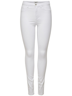 Only Jeans ONLROYAL HW  SK JEANS  WHITE NOOS 15174842 White