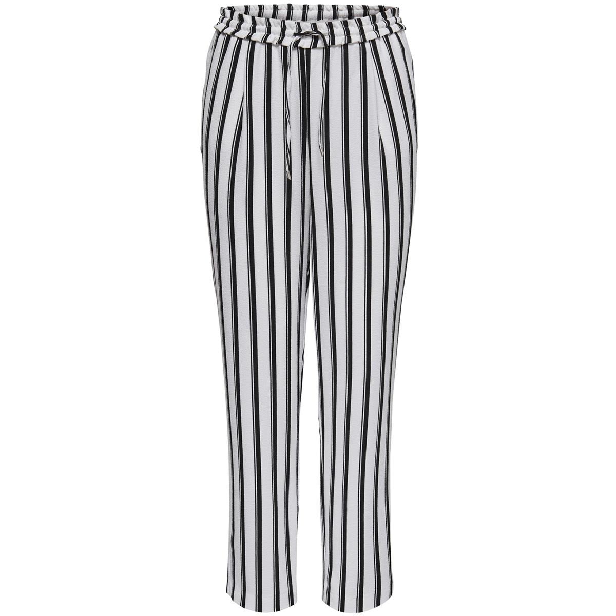 onlpiper mw pull-up pants tlr 15170033 only broek cloud dancer/black