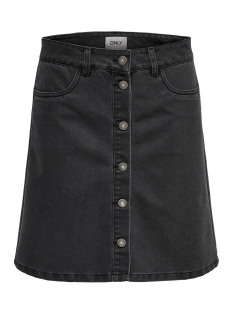 Only Rok ONLFARRAH REG DNM SKIRT BJ14495 NOOS 15179141 Black Denim