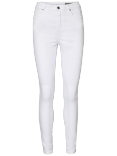 Vero Moda Jeans VMHOT SOPHIA HR SKINNY PANTS COLOR 10209868 Bright White