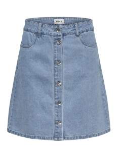 Only Rok ONLFARRAH REG DNM SKIRT  BJ14427 NO 15178372 Light Blue Denim