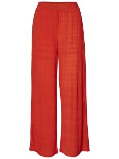 Vero Moda Broek VMVIOLA HW COCO PANT JRS 10212584 Fiery Red