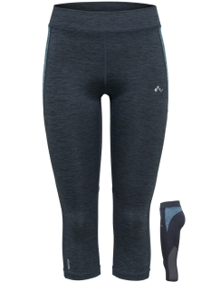 onpcaroline 3/4 training tights 15166326 only play sport broek blue nights/melange w.