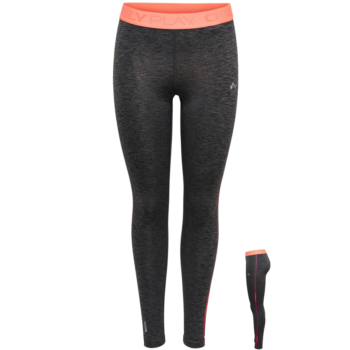 onpcalexia training tights 15166377 only play sport broek black/melange w.
