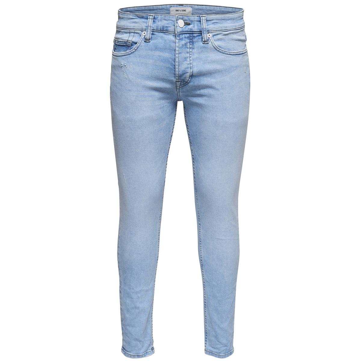 onsloom l blue dcc 2417 22012417 only & sons jeans blue denim