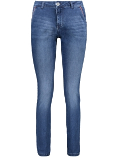 Zoso Jeans JEANS WITH PIPING EL1904 Denim/Orange red
