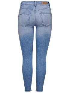onlblush mid sk ank raw bb rea4347 15178061 only jeans light blue denim