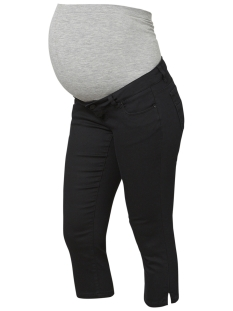Mama-Licious Positie broek MLJULIANE SLIM CAPRI JEANS A. 20008543 Black Denim