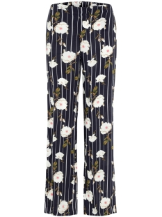 Vero Moda Broek VMSIMPLY EASY HW WIDE PANT 10211476 Night Sky/TUVA