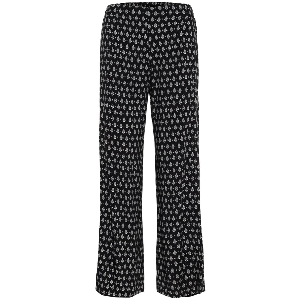 vmsimply easy hw wide pant 10211476 vero moda broek black/rebecca