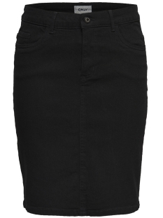 Only Rok ONLKISS HIGH DNM SKIRT  PIM001 NOOS 15175094 Black