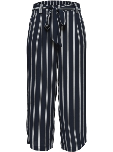 Only Broek ONLWINNER PALAZZO CULOTTE PANT  NOO 15174974 Night Sky/CLOUD DANCER