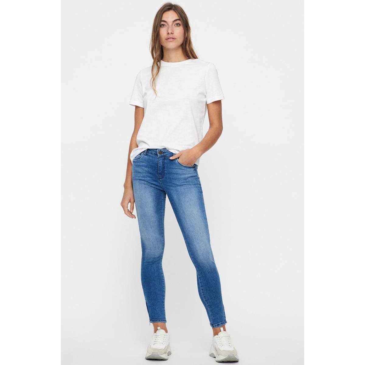nmkimmy nw ankle zip jeans az062lb 27006065 noisy may jeans light blue denim