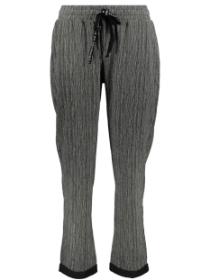 10 Days Broek JOGGER THIN STRIPE 20 009 9101 CHARCOAL