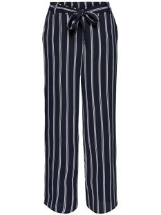 Only Broek ONLWINNER PALAZZO PANT  NOOS WVN 15174973 Night sky/Cloud Dancer