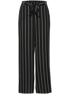 Only Broek ONLWINNER PALAZZO PANT  NOOS WVN 15174973 Black/Cloud Dancer