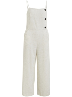 Vila Jumpsuit VICELIA CROPPED JUMPSUIT/DES 14052059 Natural Melange