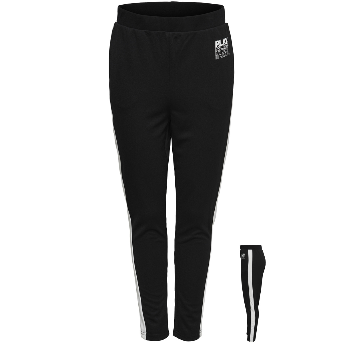 onphermosa uni sweat pants 15170234 only play sport broek black/w. white