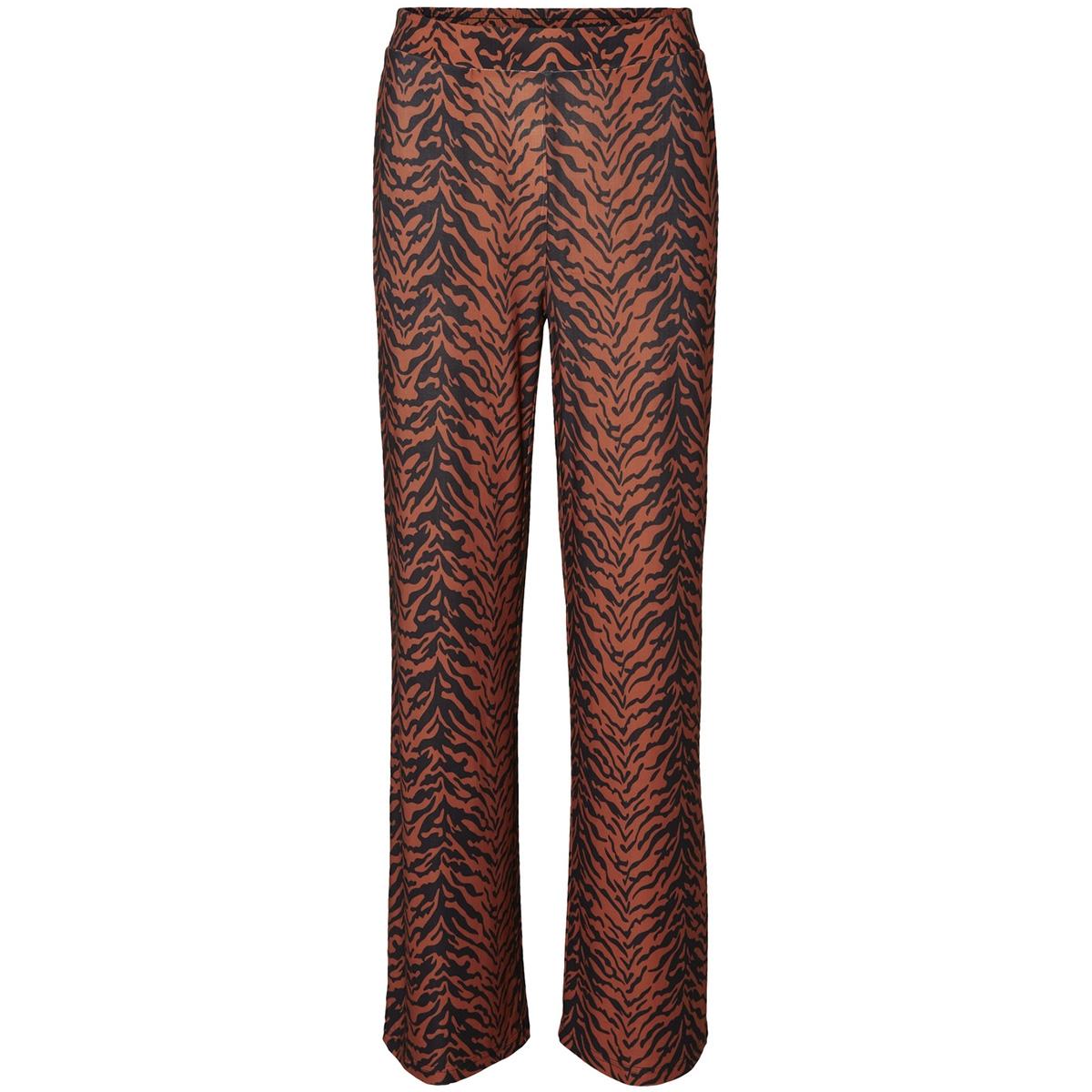 nmsally snake nw loose pant x4 27008005 noisy may broek black/auburn/black