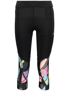 Only Play Sport broek ONPDELPHINE 3/4 TRAINING TIGHTS 15170270 Black/W. HYDRA AOP